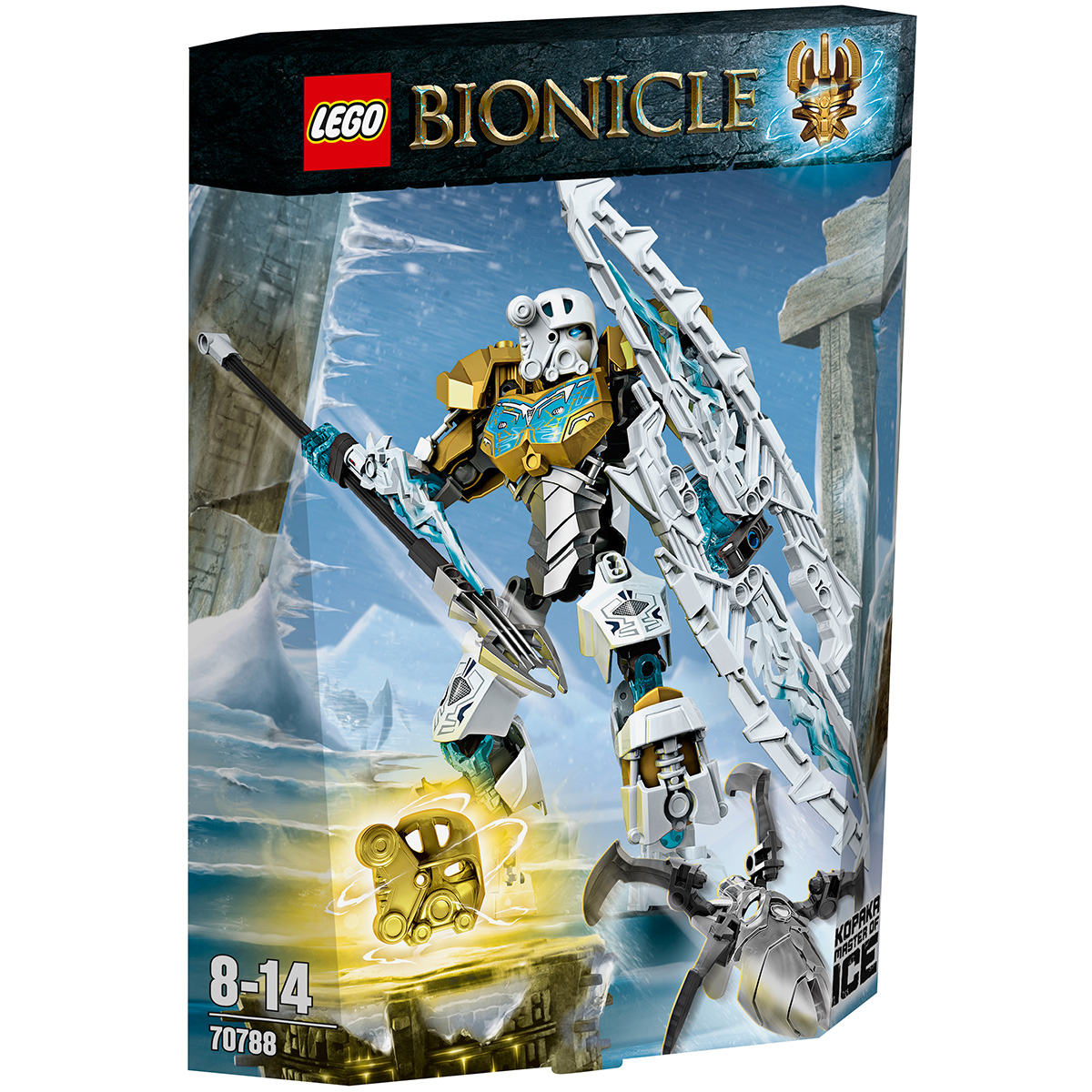 Lego Bionicle 70788 - Than bang Kopaka