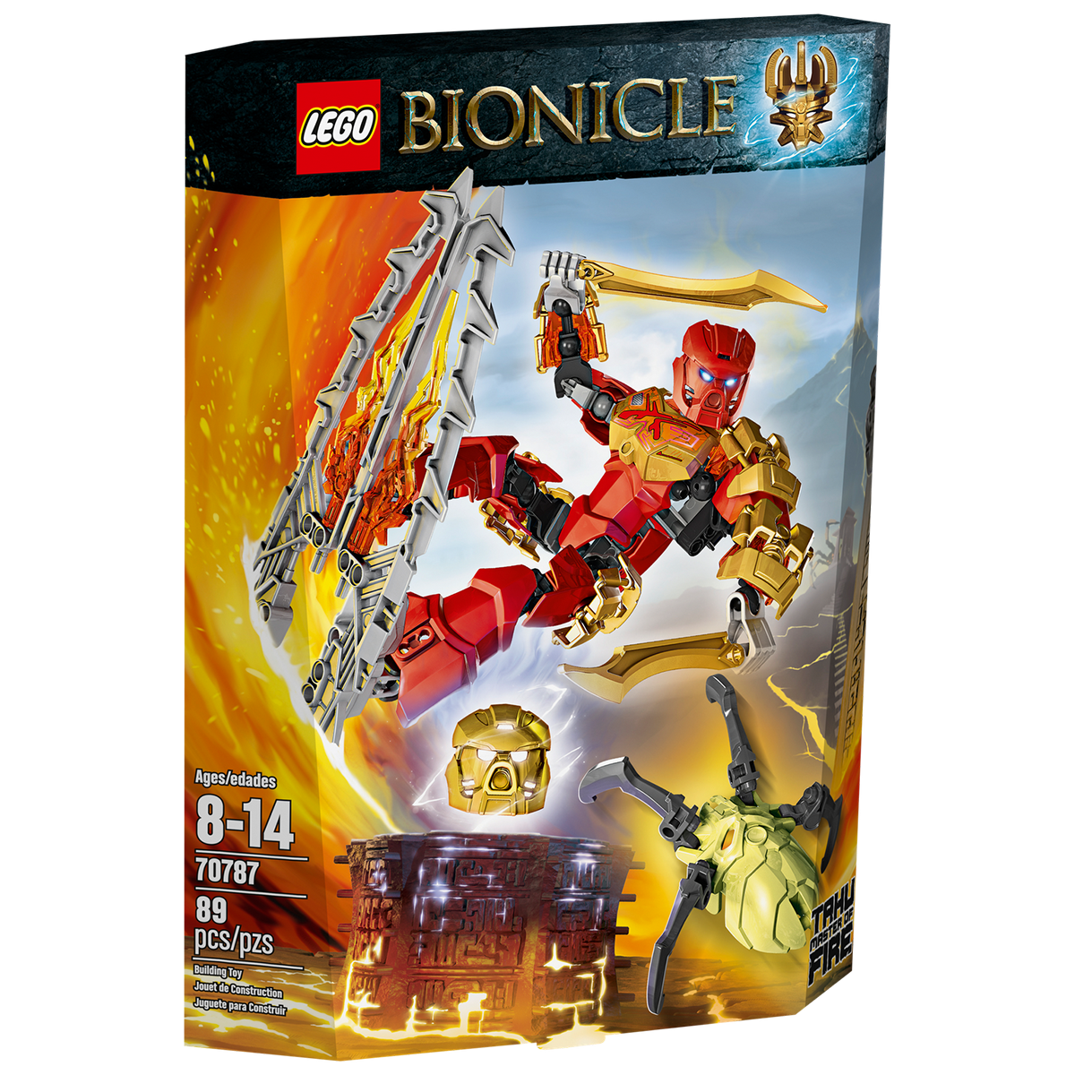 Lego Bionicle 70787 - Than lua Tahu