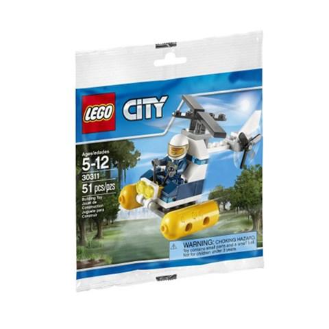 Do choi Lego City - Police Helicopte mini set – 30311