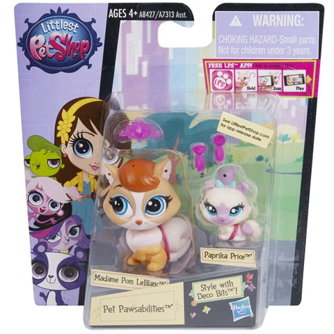 Do choi Littlest Pet Shop A8426/A7313 - Chuot Benson va em Harry