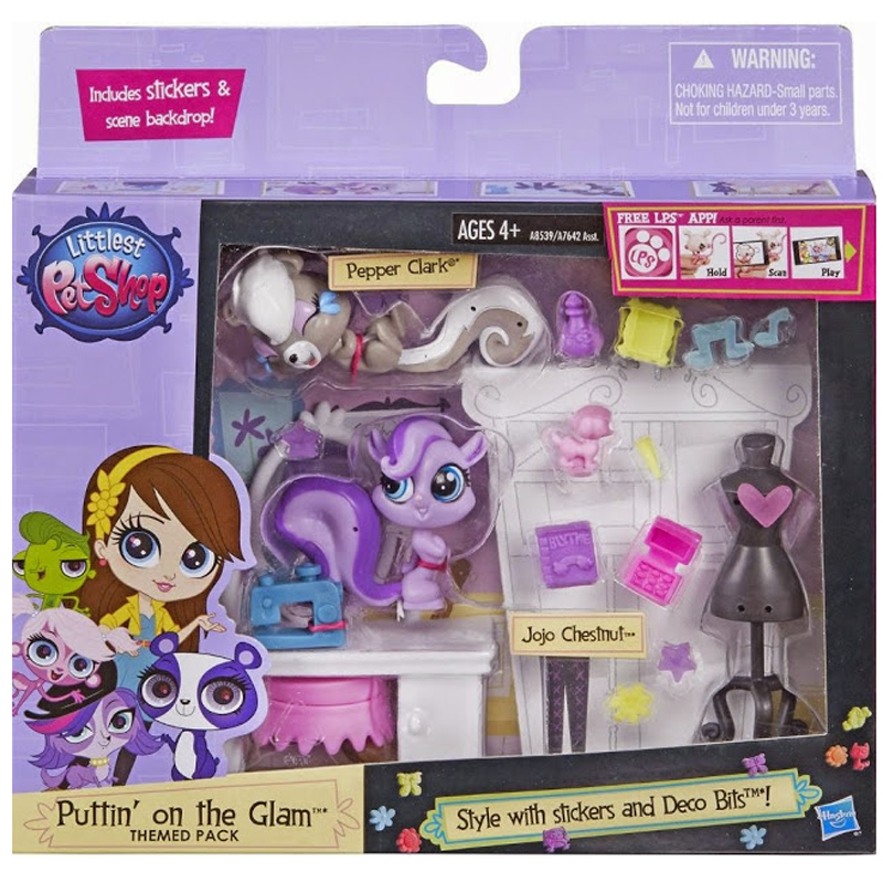 Do choi Littlest Pet Shop A8539/A7642 - Bo phong ngu Blythe