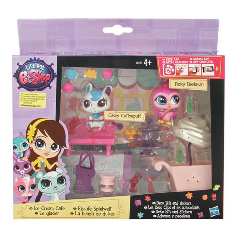 Do choi Littlest Pet Shop A8541/A7642 - Bua tiec cua thu cung