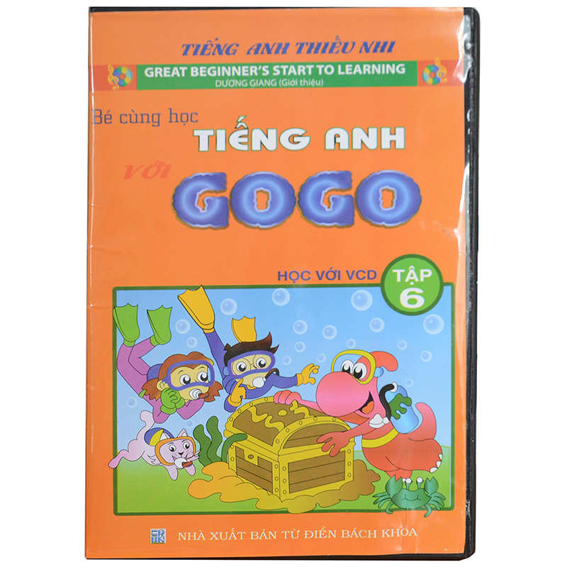 Be cung hoc tieng Anh voi Gogo tap 6 (1VCD+ 1 sach di kem)
