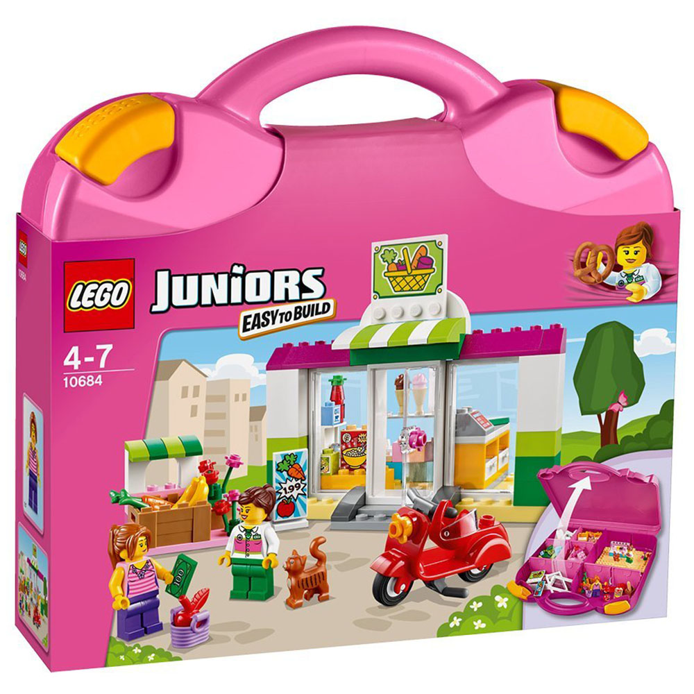 Do choi lego LEGO Juniors 10684 - Vali sieu thi