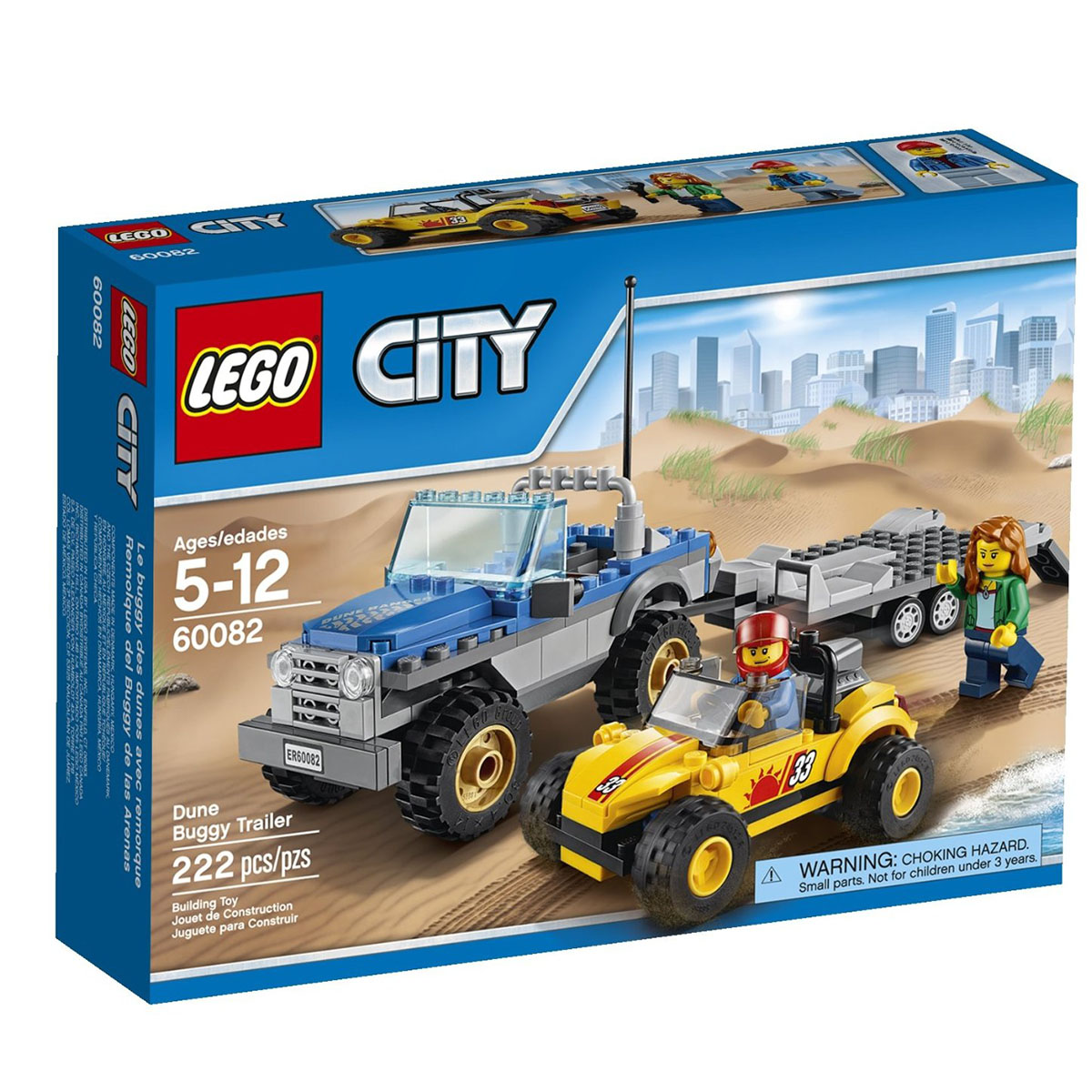 Do choi Lego City 60082 - Xe keo dia hinh