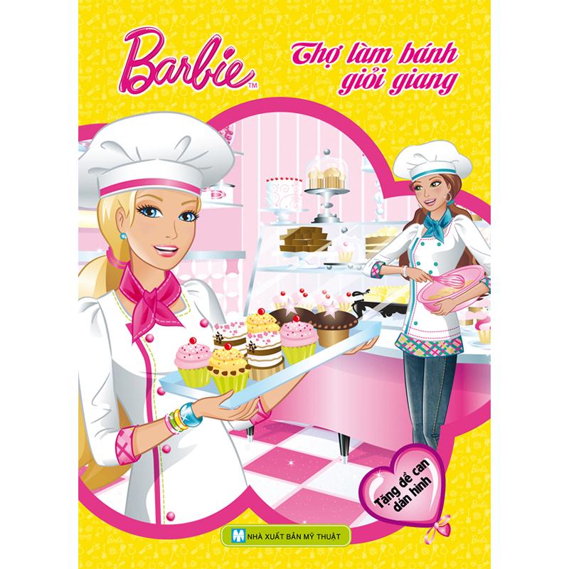 Barbie chon nghe - Tho lam banh gioi giang