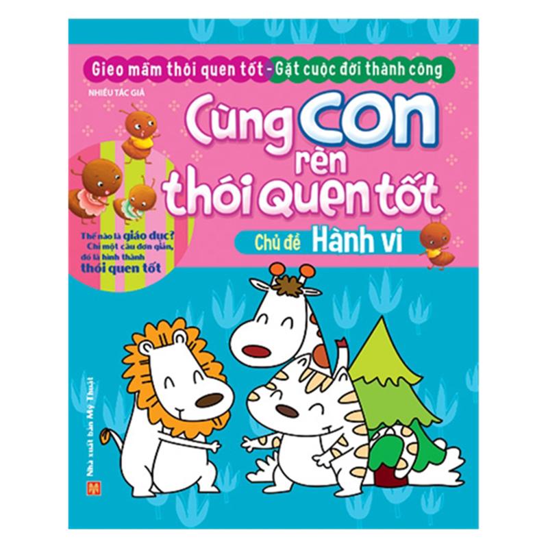 Cung con ren thoi quen tot chu de hanh vi