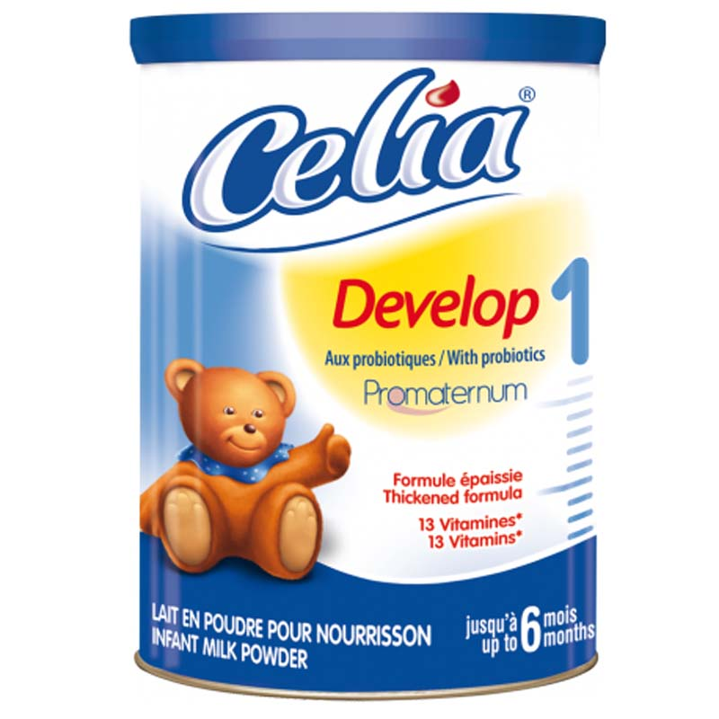 Sua bot cho be Celia Develop so 1 (400g)