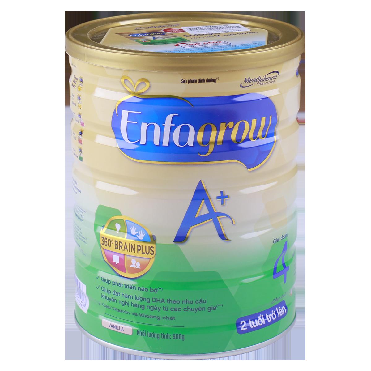 Sua Enfagrow A+ 4 vanilla 360 Brain Plus