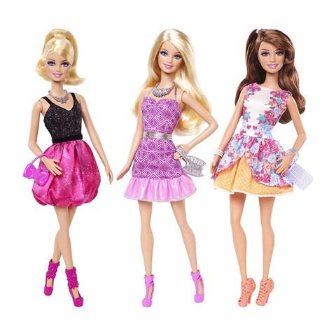 Barbie ruc ro sac hoa BCN36