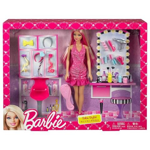 Bup be Barbie BCF85 tiem lam toc