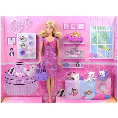 Bup be Barbie BCF80 va meo cung