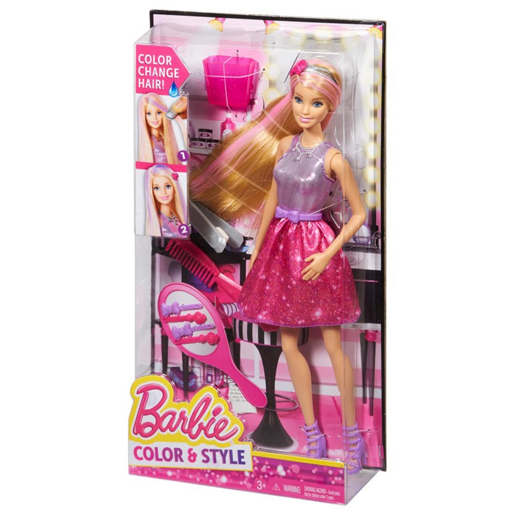 Barbie thoi trang toc CFN47