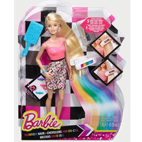 Barbie toc cau vong CFN48