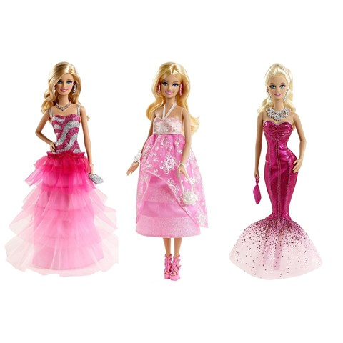 Bup be Barbie vu hoi hong BFW16
