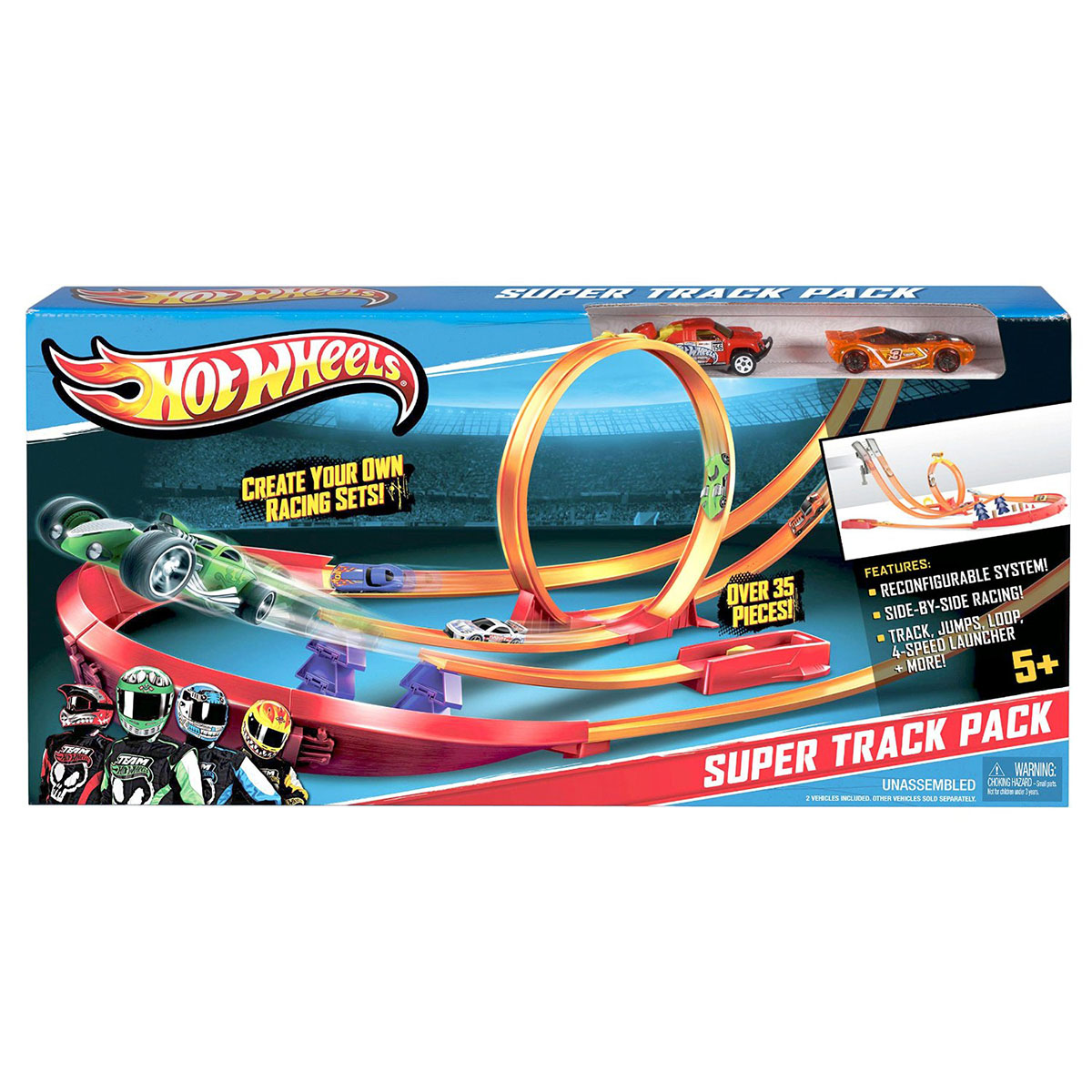 Hot Wheels Y0276 - Bo duong dua sang tao