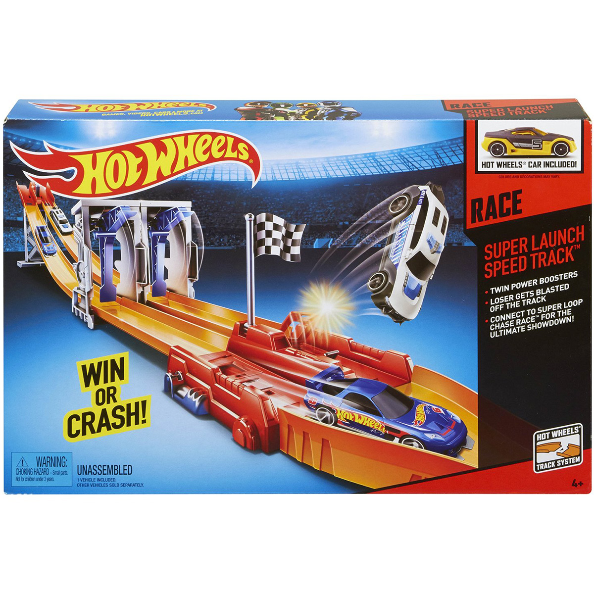 Dong co dua cao toc Hot Wheels BGJ24