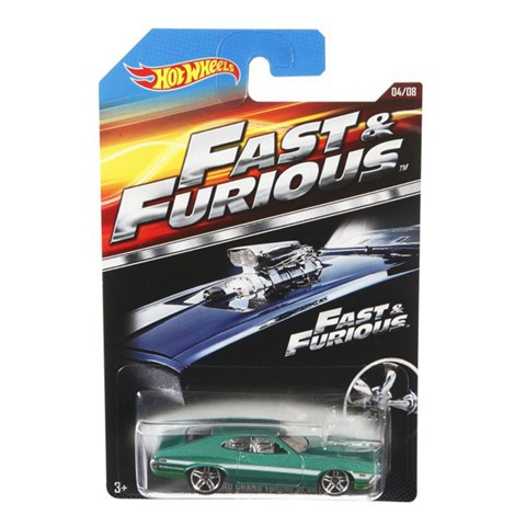 Xe Hot Wheels Fast and Furious CKJ49