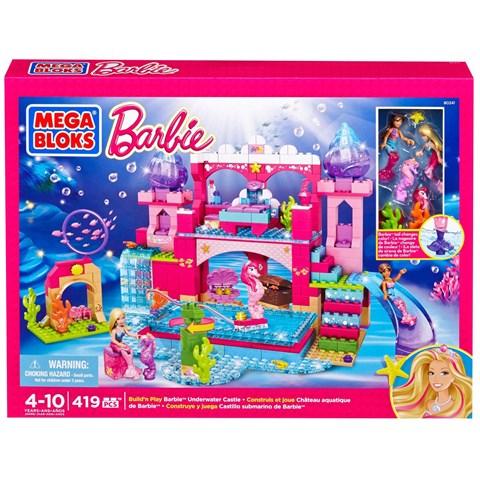 Lau dai Barbie duoi nuoc Mega Bloks DBM21