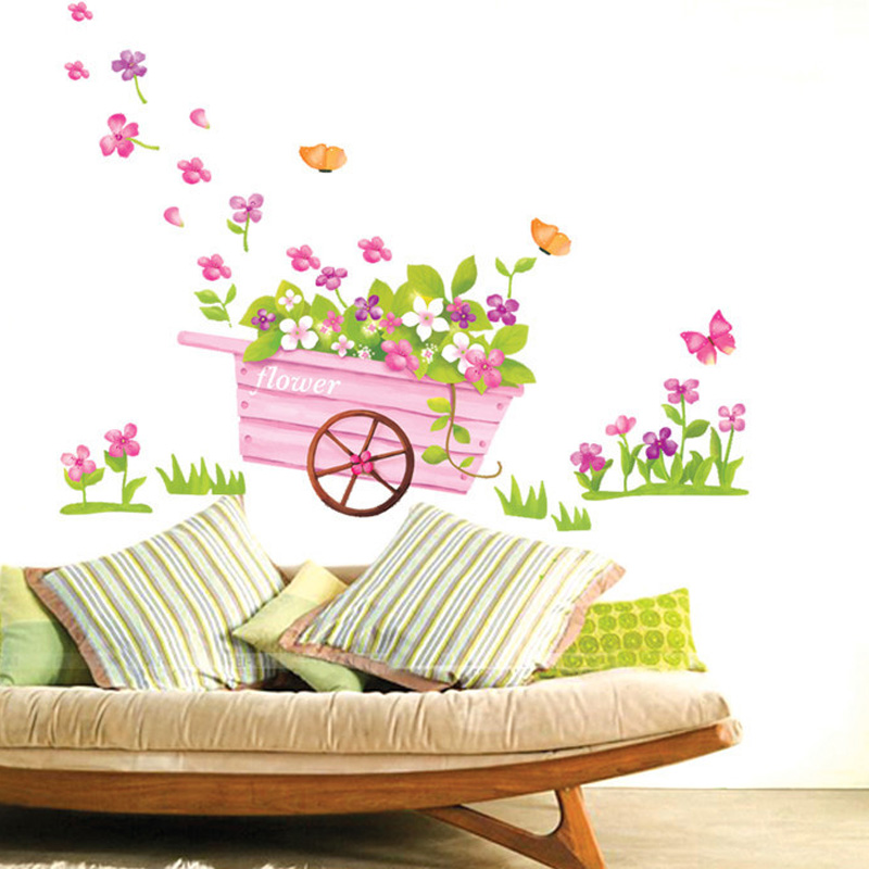 Tranh dan tuong xe hoa