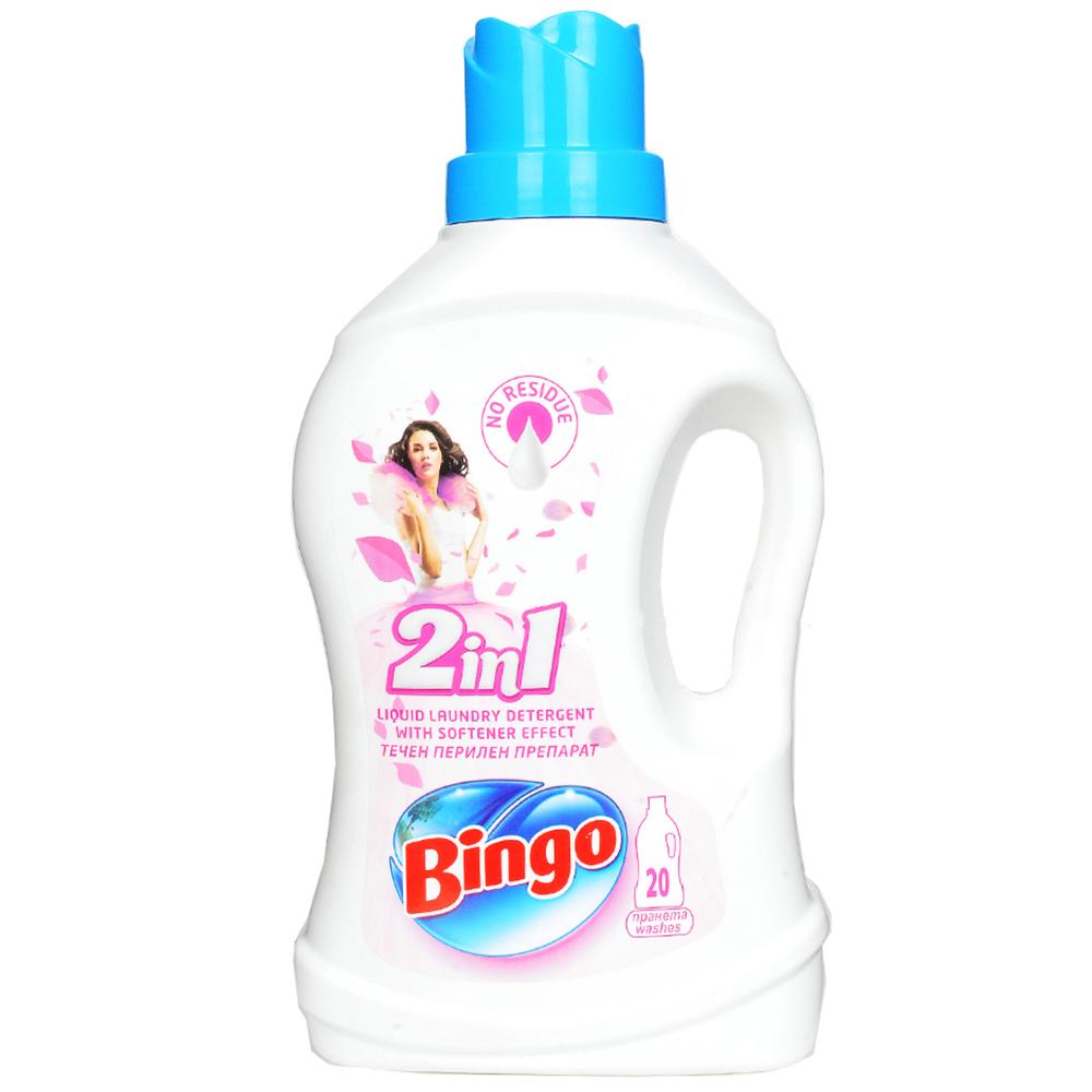 Nuoc giat xa Bingo 2 in 1-1500ml
