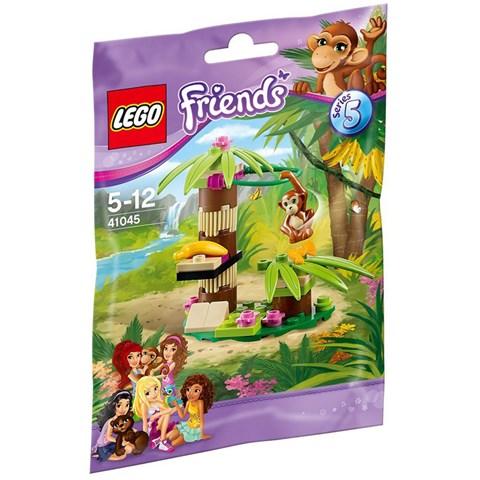 Do choi LEGO 41045 - Xep hinh vuon chuoi cua khi con