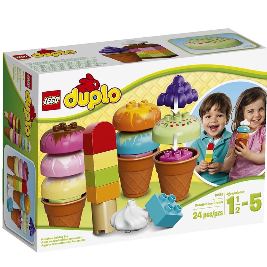 Xep hinh Lego Duplo 10574 - Sang tao kem
