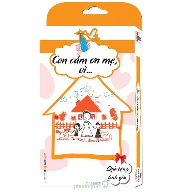 Bo Flash Card: Con cam on me, vi... - Qua tang tinh yeu