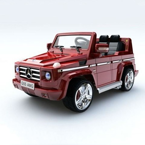 O to dien tre em Mercedes Benz G55 (2 dong co)