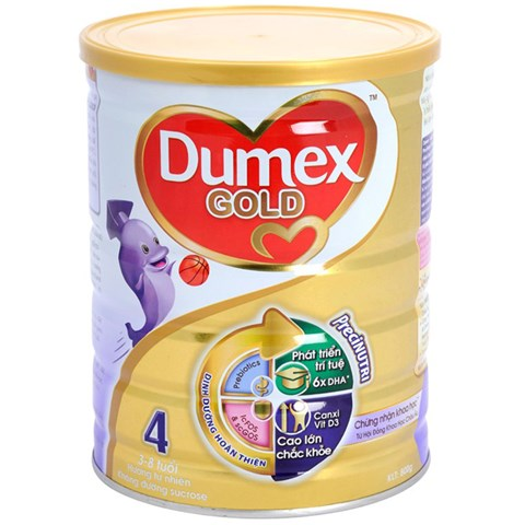 Sua bot Dumex Gold so 4 800g