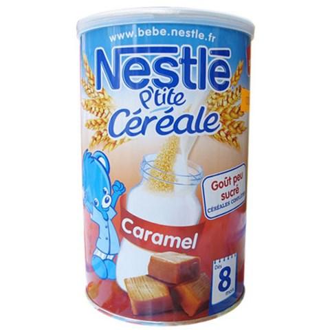 Bot pha sua Nestle vi caramel 8m+ (400g)