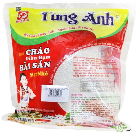 Chao hai san Tung Anh