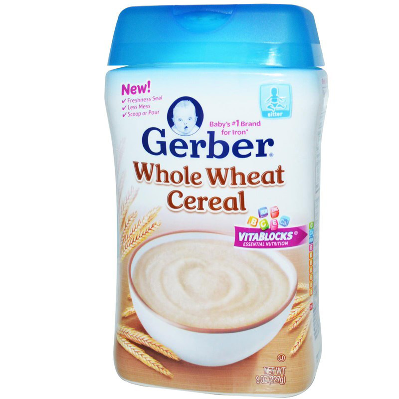 Bot an dam Gerber lua my Whole Wheat Cereal 227g