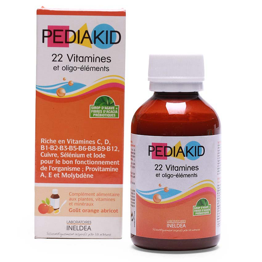 Pediakid - 22 Vitamin va khoang chat