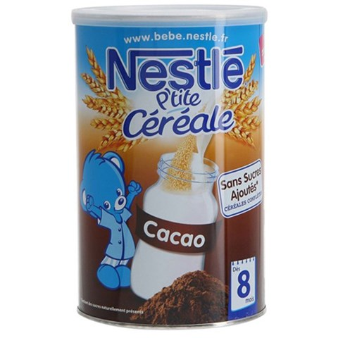 Bot pha sua Nestle vi cacao 8m+ (400g)
