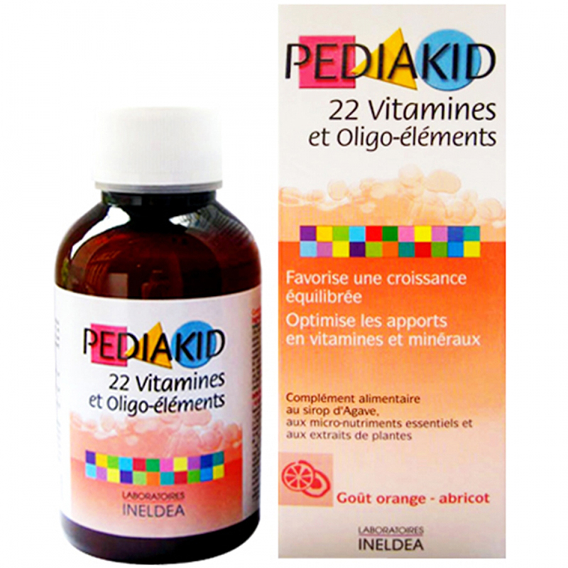 Pediakid 22 Vitamin 125ml (Phap)