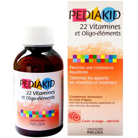 Pediakid 22 Vitamin 125ml (Phap)