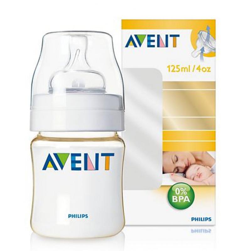Binh sua Avent 125ml nhua PES (BPA free)