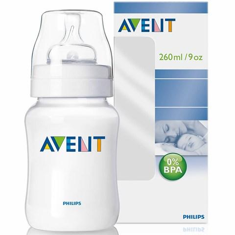 Binh sua avent 260ml nhua PP (BPA free)