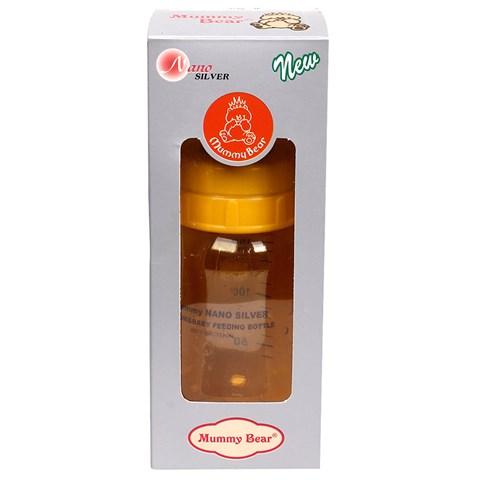 Binh sua Mummy Bear Nano Silver 150ml (co hep)
