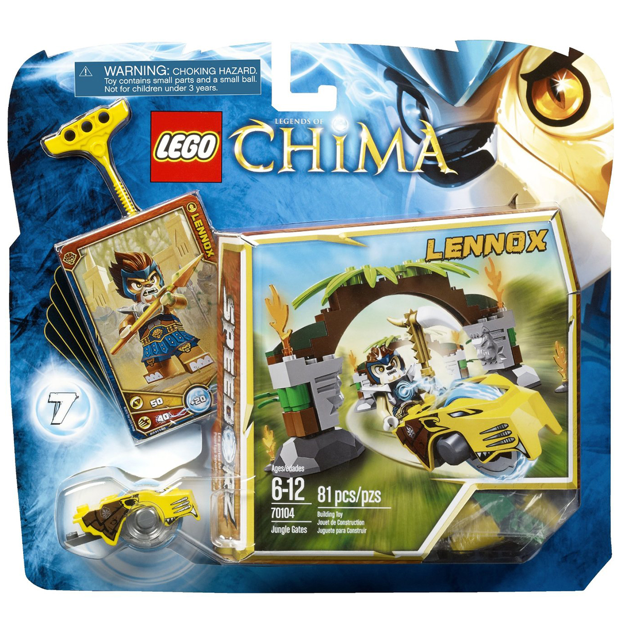 Do choi LEGO Chima 70104 - Xep hinh Cong rung bi an
