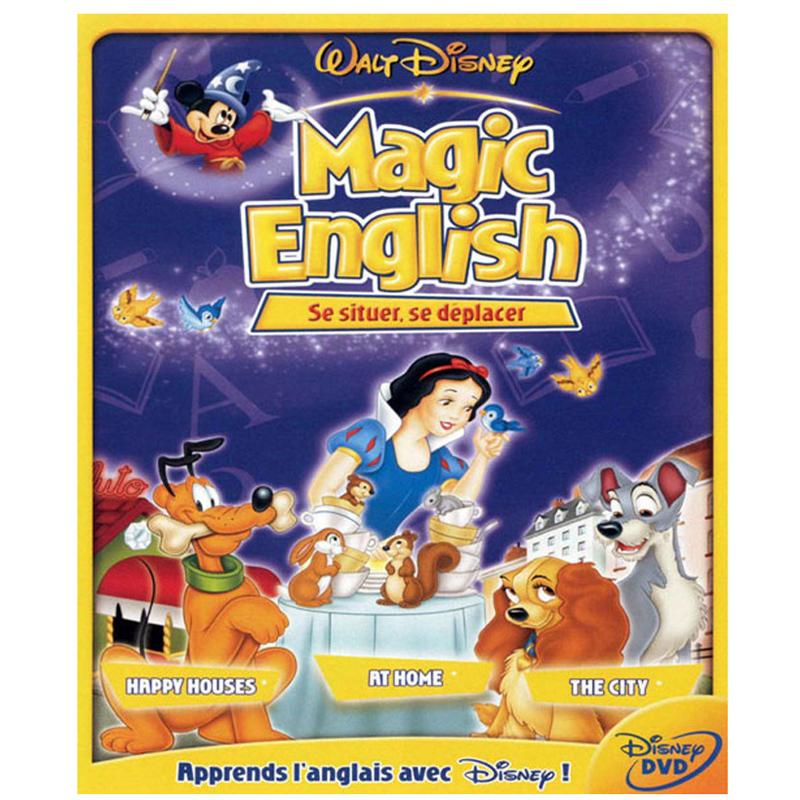 Bo dia DVD hoc tieng anh qua phim hoat hinh Magic English