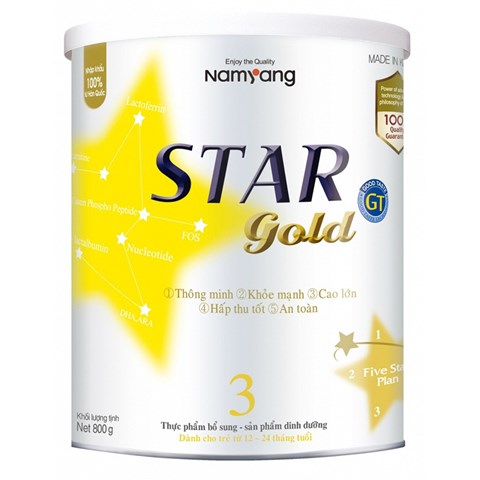 Sua Star Gold 800g so 3