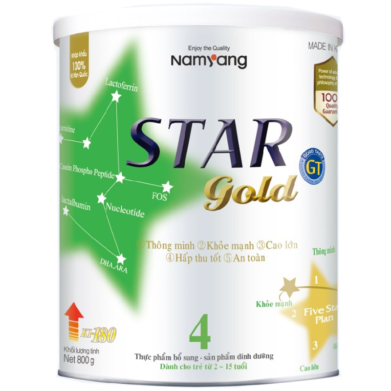 Sua Star Gold 800g so 4