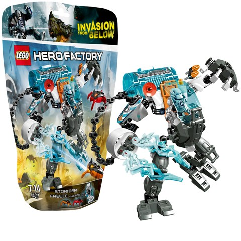 Do choi Lego 44017 - Hero Factory Stomer Robot tuyet