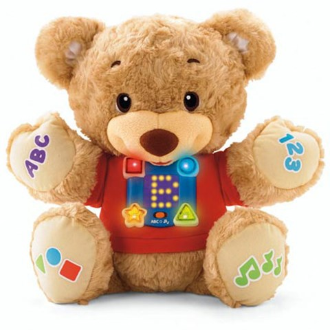 Gau Teddy Fisher Price hoc va hat (Fisher-Price Learn and Sing Teddy)
