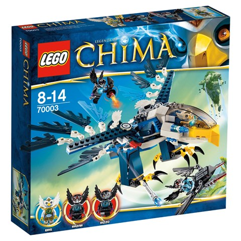 LEGO Chima 70003 - Xep hinh chim ung khong kich