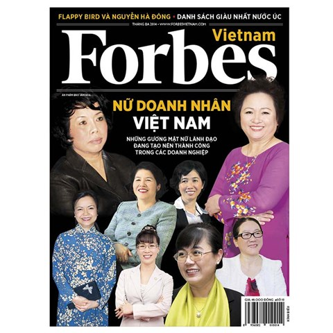 Tap chi Forbes Viet Nam so 10