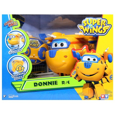 Super Wings YW710020 - may bay dieu khien Donnie Thong Minh