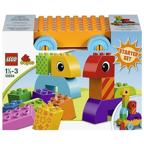 Do choi LEGO 10554 xep hinh lap rap xe keo